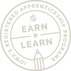 Iowa Registered Apprenticeship Logo